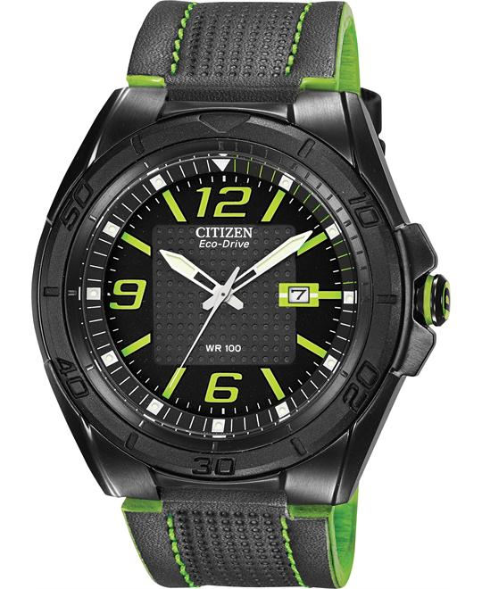 Citizen Men's Eco-Drive BRT Japanese Watch, 45mm
