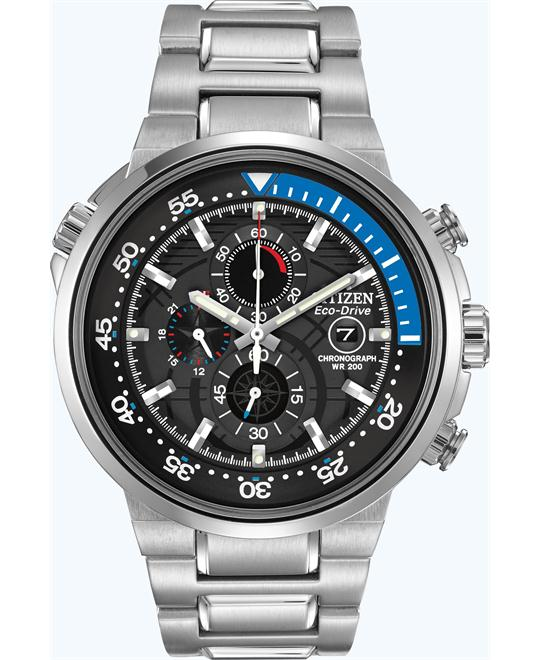 Citizen Men's Eco-Drive Chronograph Watch, 46mm