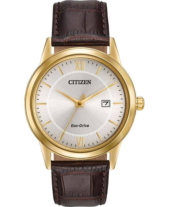 Citizen Men's Eco-Drive Gold-Tone Watch 40mm