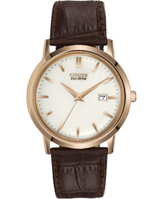 Citizen Men's Eco-Drive Rose gold Watch, 40mm