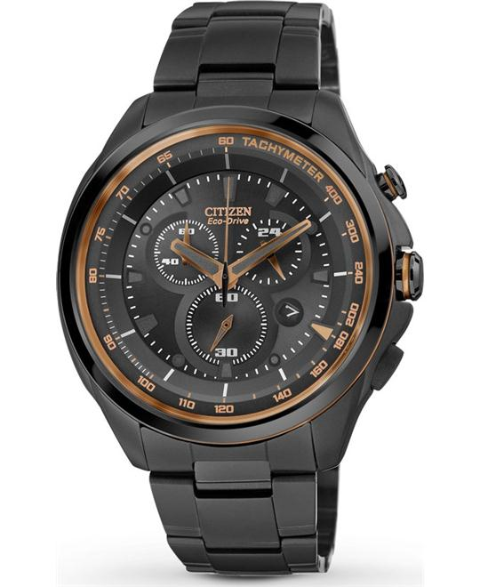 Citizen Men's Eco-Drive WDR 3.0 Chronograph Watch, 44mm