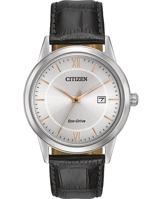 Citizen Japanese Quartz Black Watch 40mm