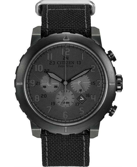 Citizen Men's Military Analog Display Japanese Watch, 45mm