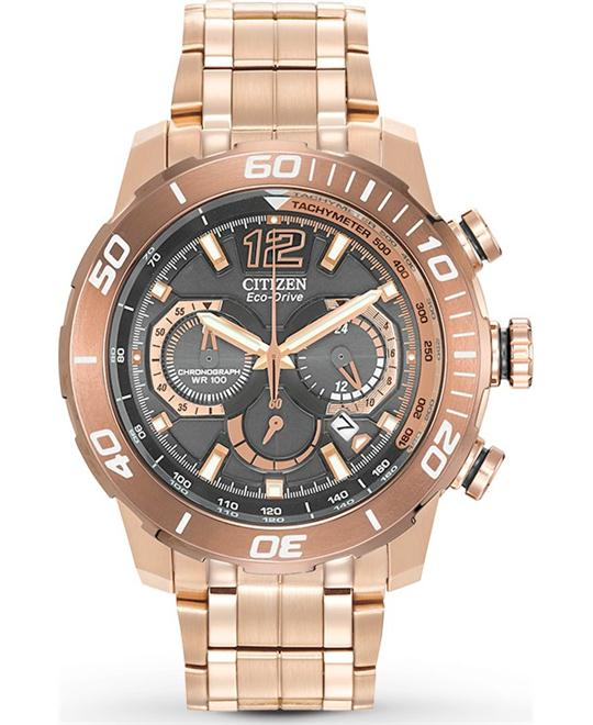 Citizen Men's Primo Stingray 620 Rose Gold Watch,44mm