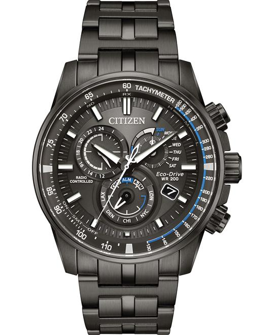 Citizen Pcat Multifunction Charcoal Grey Dial Watch 43mm