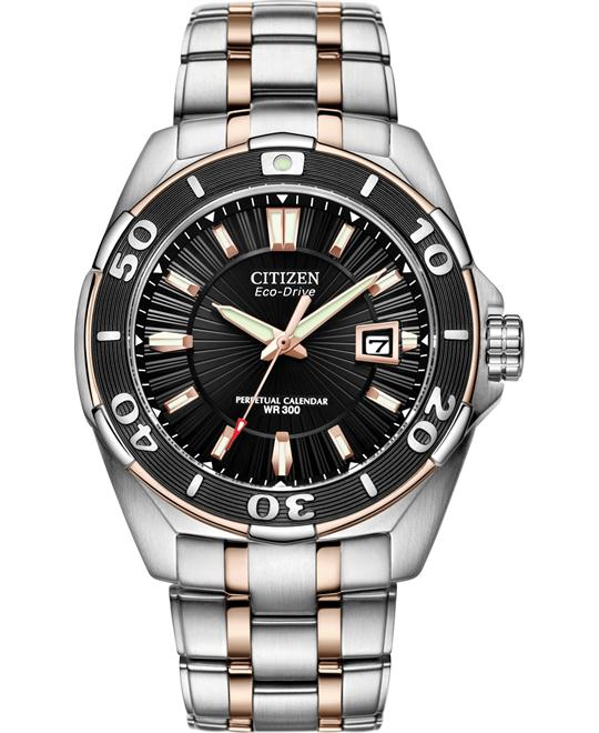 CITIZEN Perpetual Calendar Eco-Drive Men's Watch 43mm