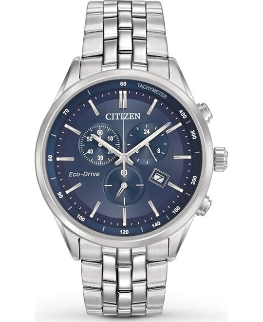 CITIZEN Sapphire Collection Blue Men's Watch 42mm