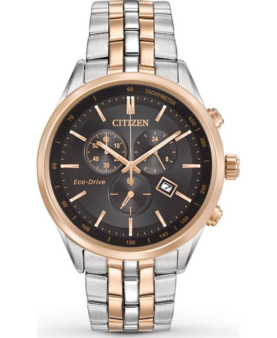 CITIZEN Sapphire Collection Eco-drive Watch 42mm