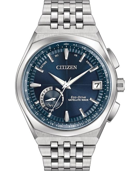 CITIZEN Satellite Wave World Time GPS Watch 44mm