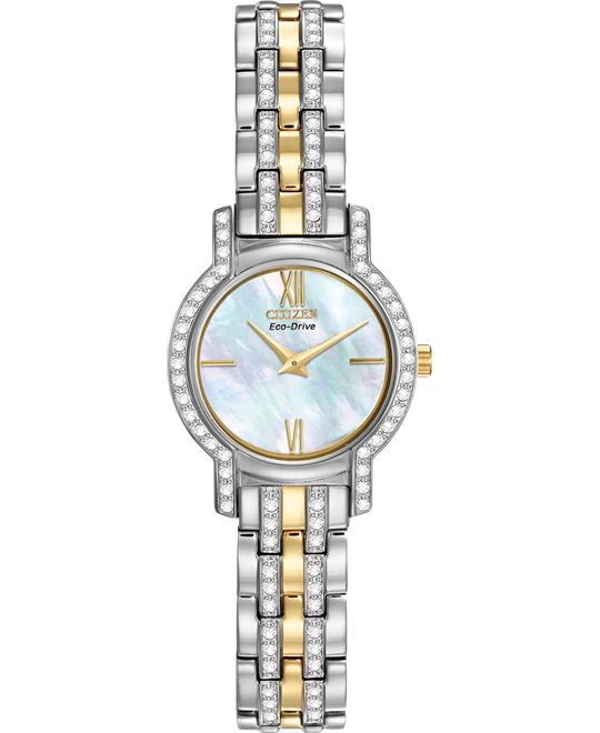 Citizen SILHOUETTE CRYSTAL Eco-Drive Watch 23mm
