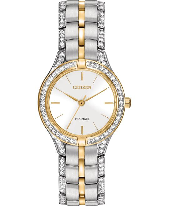 Citizen Silhouette Crystal Eco-Drive Watch 28mm