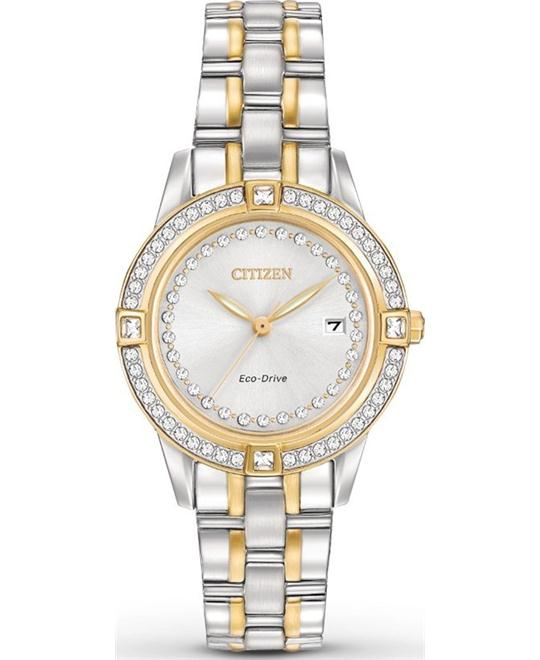 Citizen Silhouette Crystal Eco-Drive Watch 29mm