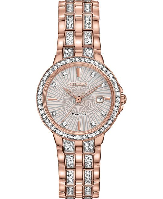 CITIZEN Silhouette Crystal Ladies Watc 28mm