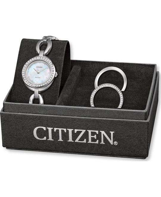 CITIZEN Silhouette Crystal Ladies Watch 24mm