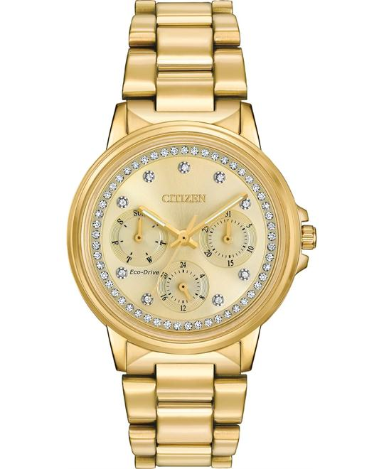 CITIZEN Silhouette Crystal Ladies Watch 36mm