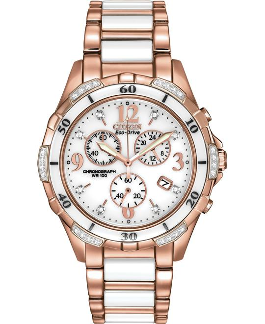 đồng hồ Citizen Silhouette Diamond Sport Women's Watch 40mm