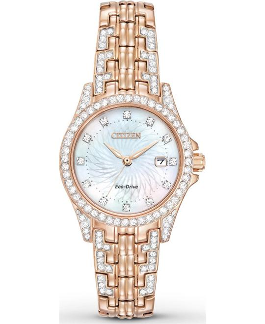 Citizen Silhouette Eco-Drive Crystal Watch 28mm