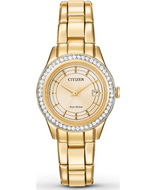 Citizen Silhouette Women's Gold Watch 28mm