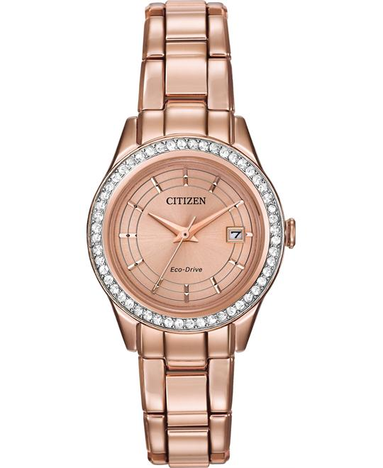 Citizen Silhouette Women's Rose Gold Watch 28mm