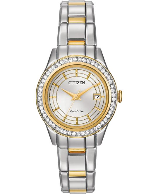 Citizen Silhouette Women's Two Tone Watch 28mm
