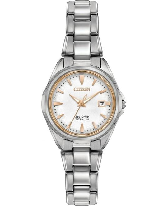 CITIZEN SUPER Titanium Ladies Watch 28mm