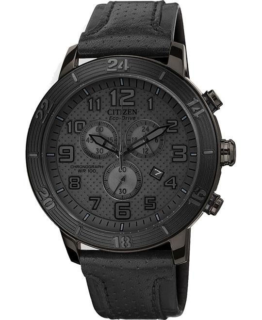 Citizen Unisex Eco-Drive Chronograph Watch, 46mm