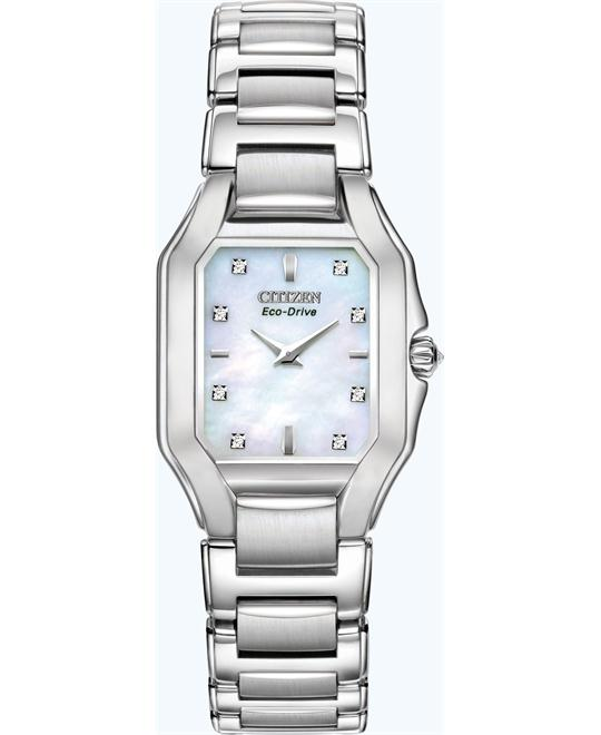 Citizen Women's Collection Eco-Drive Fiore Watch, 24mm