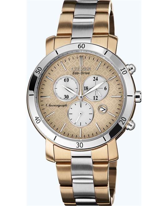 Citizen Women's Eco-Drive AML 3.0 Chronograph Watch, 41mm