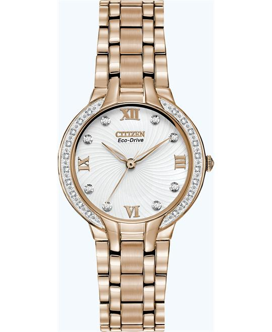 Citizen Women's Eco-Drive Bella Diamond Watch, 29mm
