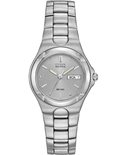 Citizen Women's Eco-Drive Corso Stainless Watch, 25mm