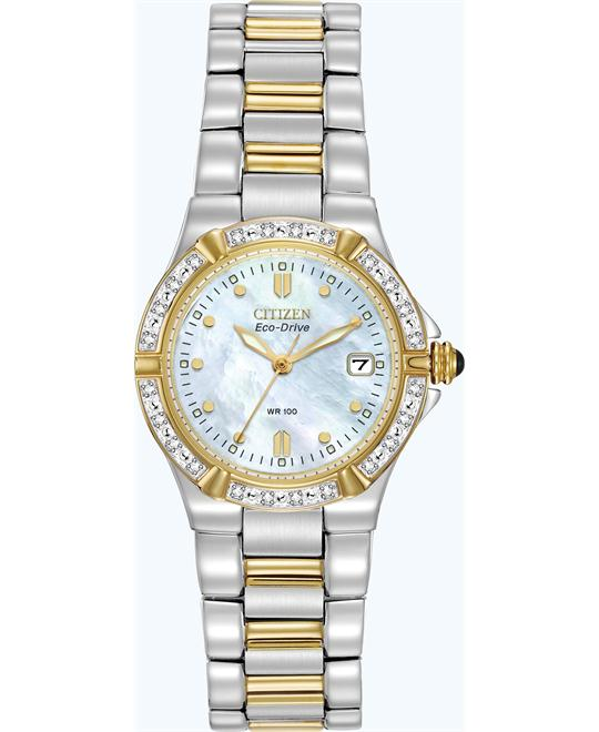 Citizen Riva Diamond Eco-Drive Watch 26mm