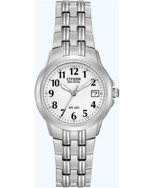Citizen Women's Eco-Drive Silhouette Sport Watch, 27mm