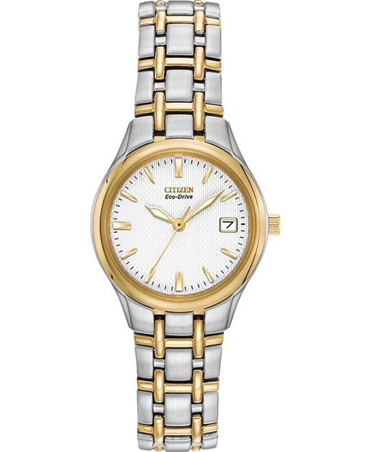 Citizen Silhouette Eco-Drive Two-Tone Watch 25mm
