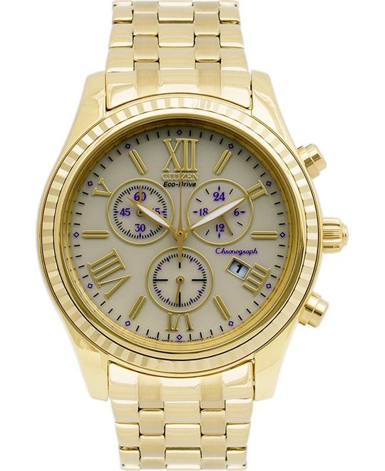 "Citizen Women's ""Eco-Drive"" Stainless Steel Watch, 40mm"