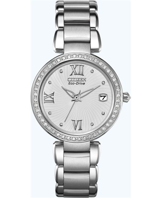 Citizen Marne Signature DiamondsWatch 33mm