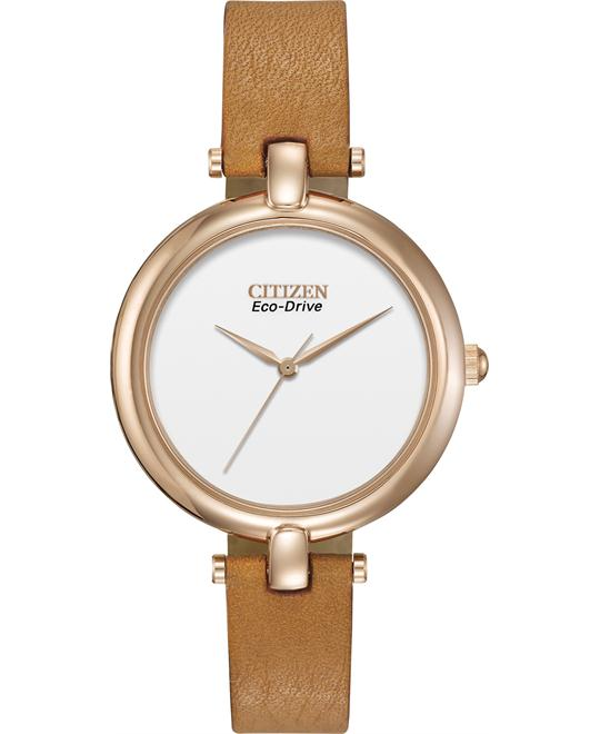 "Citizen Women's Silhouette ""Eco-Drive"" Watch, 34mm"