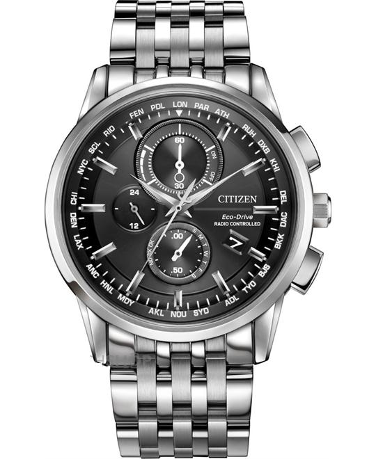 CITIZEN World Chronograph A-T Eco-Drive Watch 43MM