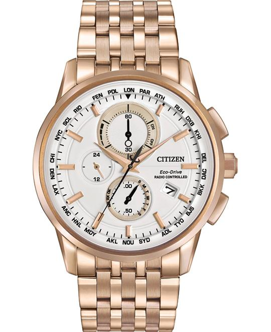 CITIZEN World Chronograph A-T Perpetual Watch 43MM