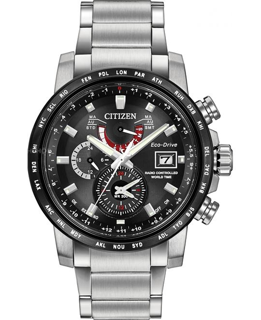 CITIZEN World Time A-T Chronograph Perpetual 44mm