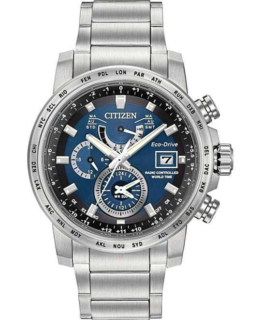 CITIZEN World Time A-T Perpetual Watch 44MM