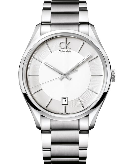 CLAVIN KLIEN STAINLESS STEEL WATCH 42MM