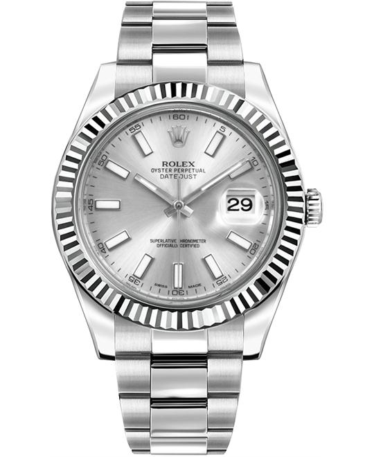 DATEJUST II OYSTER 116334-0006 WATCH 41 MM