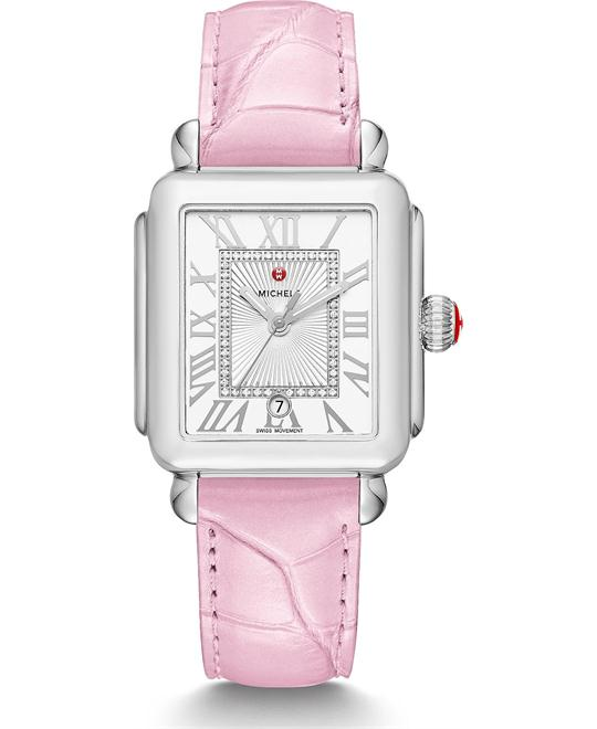 Michile Deco Madison Diamond Pink Watch 33*35mm