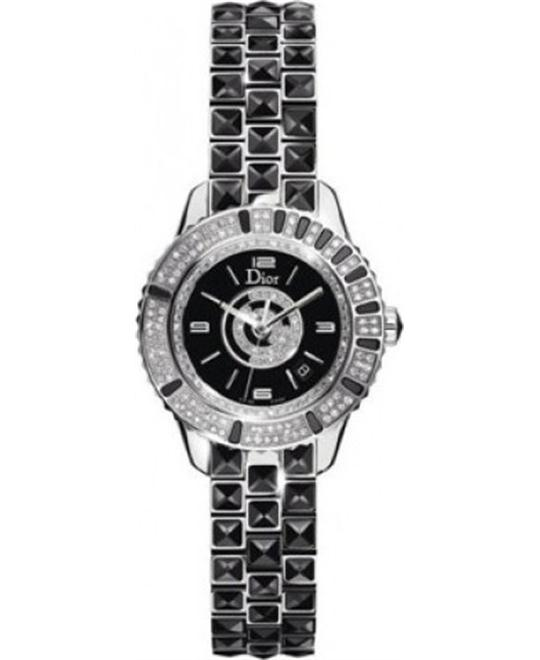 Dior Christal CD11311BM002 Diamonds Ladies Quartz Watch 33mm