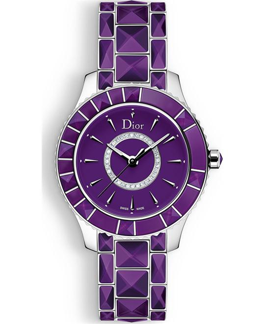 DIOR CHRISTAL CD143112M001 Quartz Watch 33mm