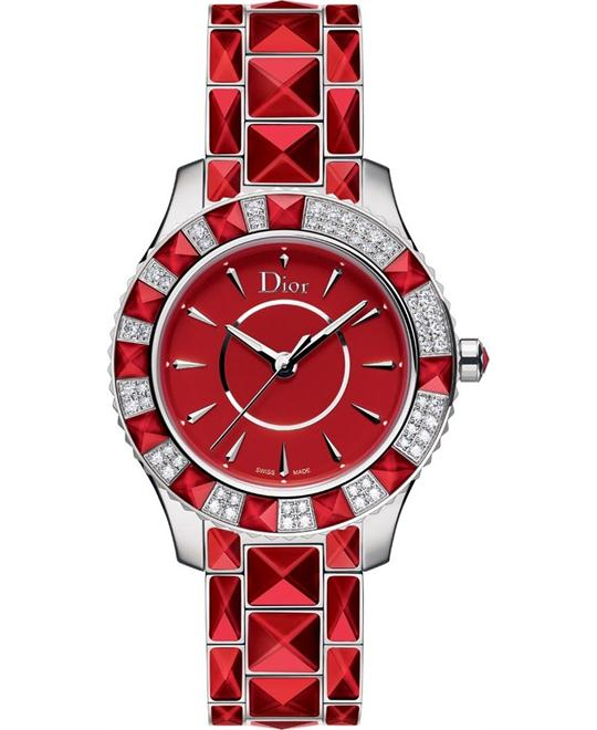 DIOR CHRISTAL CD143114M001 Quartz Watch 33mm