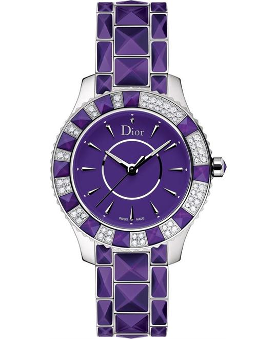 DIOR CHRISTAL CD143115M001 Quartz Watch 33mm