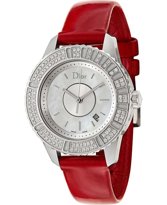 Dior Christal White Mother of Pearl Diamond 33mm