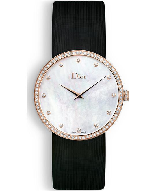 DIOR LA D DE DIOR CD043171A001 Mother of Pearl Dial 38mm