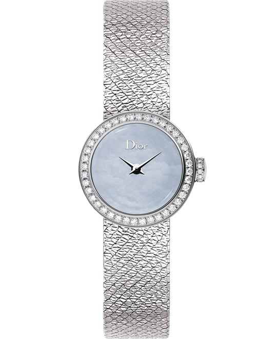 Dior La Mini D de Dior Satine Ladies Watch 19mm